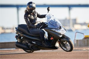 2016 14.8 HP, 155cc 4-stroke, liquid-cooled Yamaha Smax ($3,690)