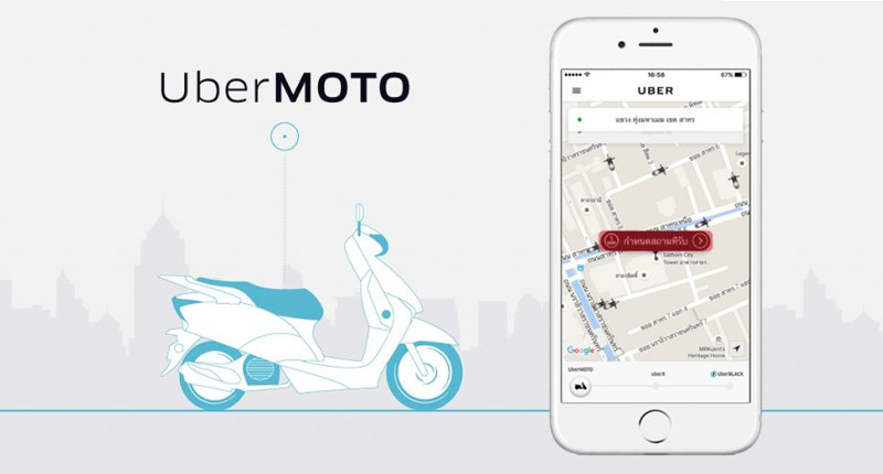 Uber for Scooters? The rise and fall of UberMOTO