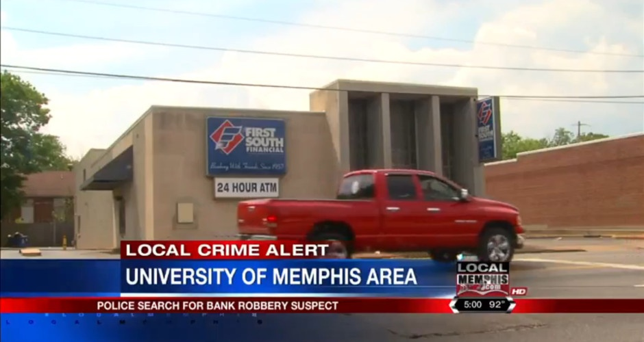 Memphis Police Search For Scooter-Riding Bank Robber