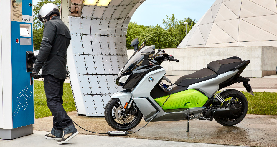 A sweet BMW electric scooter with 99-mile range is coming to the US