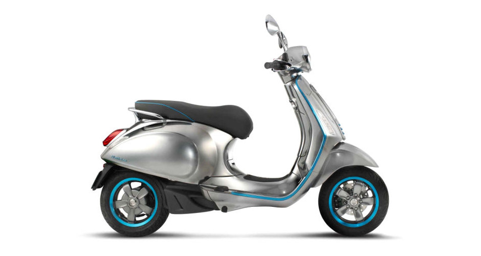 The Classic Vespa Scooter Finally Goes Electric