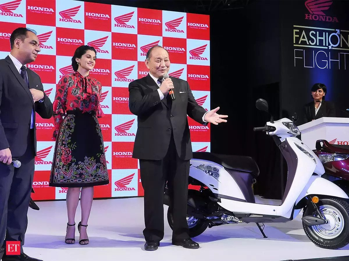 Honda scooter sales cross 25 million mark